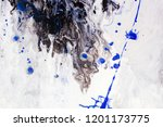 rough paint textured black and... | Shutterstock . vector #1201173775