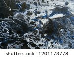 rough paint textured black and... | Shutterstock . vector #1201173778