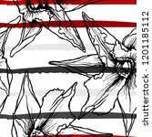 tropical  stripe  animal motif. ...   Shutterstock .eps vector #1201185112