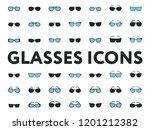 glasses and sunglasses models....   Shutterstock .eps vector #1201212382