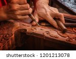 engraving and scraping of... | Shutterstock . vector #1201213078
