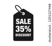 35  discount label symbols...   Shutterstock .eps vector #1201227448