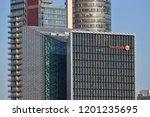 vilnius  october 12  the head...   Shutterstock . vector #1201235695