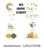 business info visualisation... | Shutterstock .eps vector #1201273708