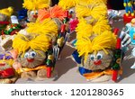 flea market   folk crafts.... | Shutterstock . vector #1201280365