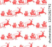 christmas and happy new year... | Shutterstock .eps vector #1201282792