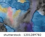 abstract watercolor background. ... | Shutterstock . vector #1201289782