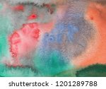 abstract watercolor background. ... | Shutterstock . vector #1201289788