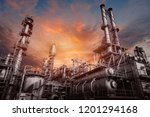 industrial furnace and heat... | Shutterstock . vector #1201294168