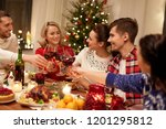 holidays and celebration... | Shutterstock . vector #1201295812