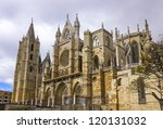 gothic cathedral of leon ...   Shutterstock . vector #120131032