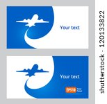 airplane flight tickets air fly ... | Shutterstock .eps vector #120133822