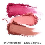 close up of face powder on... | Shutterstock . vector #1201355482