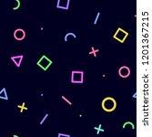 retro tileable print... | Shutterstock . vector #1201367215