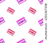 retro seamless background with... | Shutterstock . vector #1201367338