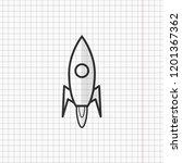 simple flat space rocket...