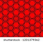modern seamless geometric... | Shutterstock .eps vector #1201379362