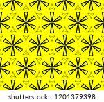 modern seamless geometric... | Shutterstock .eps vector #1201379398