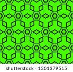 modern seamless geometric... | Shutterstock .eps vector #1201379515