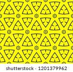modern seamless geometric... | Shutterstock .eps vector #1201379962