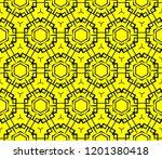 modern seamless geometric... | Shutterstock .eps vector #1201380418