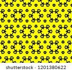 modern seamless geometric... | Shutterstock .eps vector #1201380622