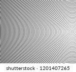 abstract vector circle halftone ... | Shutterstock .eps vector #1201407265