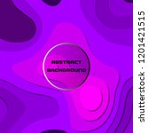 abstract purple background with ... | Shutterstock .eps vector #1201421515