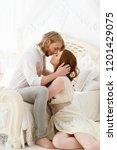 outspoken lovestory. date for...   Shutterstock . vector #1201429075