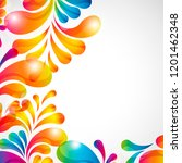 abstract background with bright ...   Shutterstock .eps vector #1201462348