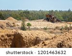 abandoned sapphire diggings in... | Shutterstock . vector #1201463632