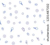 light blue vector seamless...   Shutterstock .eps vector #1201487332