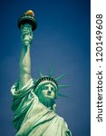 statue of liberty  new york | Shutterstock . vector #120149608