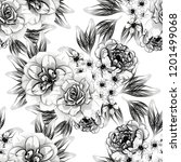 abstract elegance seamless...   Shutterstock .eps vector #1201499068