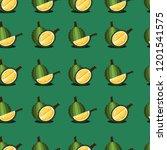 """durian"" fruit is similar to... | Shutterstock .eps vector #1201541575"