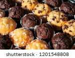 Many Mini Muffins On Dessert...