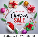 christmas sale promotional...