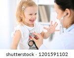 doctor and patient baby in...   Shutterstock . vector #1201591102