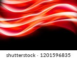 shiny red abstract lighting... | Shutterstock . vector #1201596835