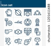 contains such icons as... | Shutterstock .eps vector #1201611688