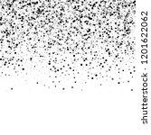 scattered dense balck dots.... | Shutterstock .eps vector #1201622062