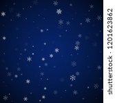 sparse snowfall christmas...   Shutterstock .eps vector #1201623862