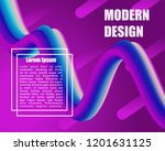 abstract gradient background... | Shutterstock .eps vector #1201631125
