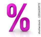 percent sign percentage... | Shutterstock . vector #1201633972