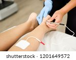 electroacupuncture dry with... | Shutterstock . vector #1201649572