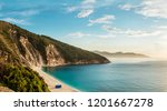 kefalonia island most... | Shutterstock . vector #1201667278