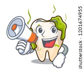 with megaphone character... | Shutterstock .eps vector #1201674955
