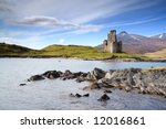 Ardvreck Castle On The Shore O...