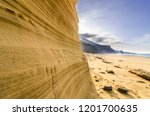 Sand Wall In Roque Del Moro  ...