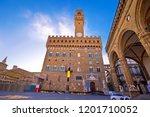 piazza della signoria in... | Shutterstock . vector #1201710052